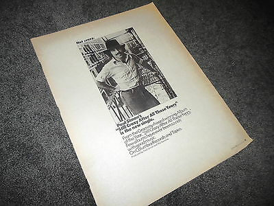 PAUL SIMON Still Crazy After All These Years 11x14 Promo BILLBOARD Ad Poster