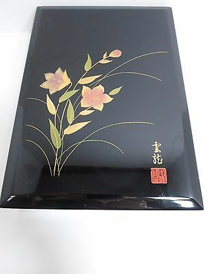Black Lacquer Chinese/Japanese Box