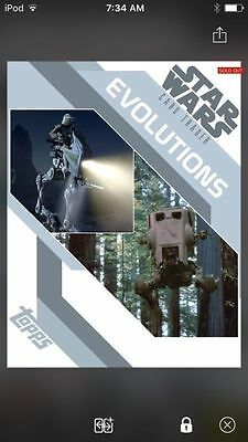 Topps Star Wars Digital Card Trader Evolutions AT-ST Insert