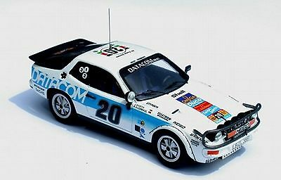 kit Porsche 924 T #20 J.Barth-R.Kussmaul Rally Safari 1979  Microsprint kit 1/43