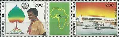 Timbres Tchad PA290A ** lot 18292