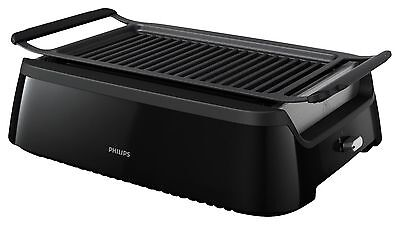 Philips HD6371/94 Avance Smokeless Grill with Die Cast Grill Small Black