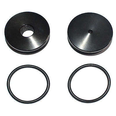 "WIX / NAPA 4003 / 24003 Premium Replacement End Cap Set-5/8""-24 BLACK"