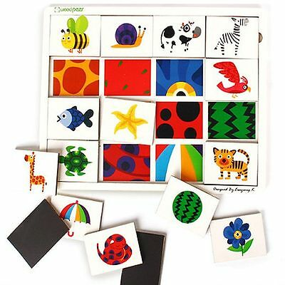 (Puzzle with Mom) Puzzle Magnet Puzzle Shape Puzzle Animal Puzzle Insect Puzzle