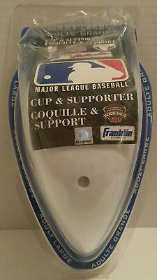 FRANKLIN ATHLETIC CUP & SUPPORTER / JOCK mlb BASEBALL Softball ADULT LARGE
