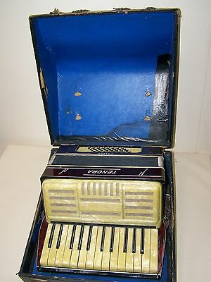 Nice old Accordion, Tenora Pallas Decor