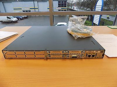 CISCO 2811-SEC/K9  with 512D/128F , WIC-1T  Rev. 15.1(4) software