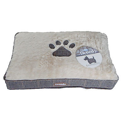 Pet Brands Tweedy Luxury Mattress Pet Bed