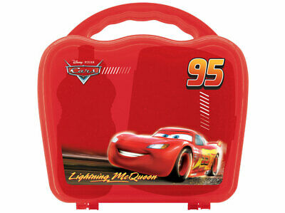 89228 Disney Cars - Box Brotdose Flasche Tragekoffer Lunchbox 3er Set