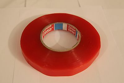 Tesa 4965 Double Sided Transparent Tape; 19mm x 50m Very Strong