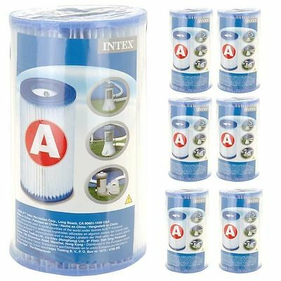 Intex Type A Replacement Swimming Pool Filter Pump Cartridges Type lll