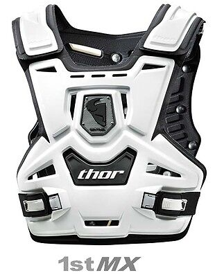 Thor Sentinel Motocross MX Body Armour Kids Youth White