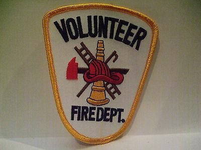 fire patch  VOLUNTEER FIRE DEPT     GENERIC PATCH