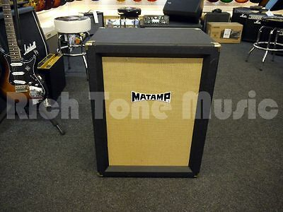 Matamp 2x12 Cabinet w/ Celestion Vintage 30s - 2nd Hand