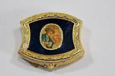Estee Lauder Solid Perfume Compact English Scent Box 1974