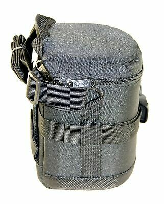 ExPro 11 x 14cm Shockproof Lens Bag Case Padded Pouch Cover for Canon Nikon Sony
