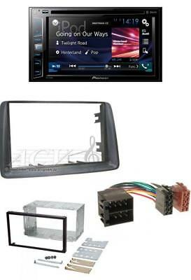 Pioneer Bluetooth DVD MP3 2DIN USB CD Autoradio für Fiat Panda (ab 2003)