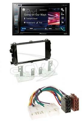 pioneer avh x490dab autoradio 2 din mit bluetooth und usb. Black Bedroom Furniture Sets. Home Design Ideas