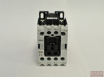 TECO CU-11 Magnetic Contactor, 24A, 3 Phase, 24V coil 3A1a (TAIAN CN-11)