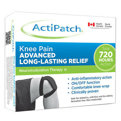 ActiPatch - Knee Pain - Drug free chronic pain relief - 20% OFF!