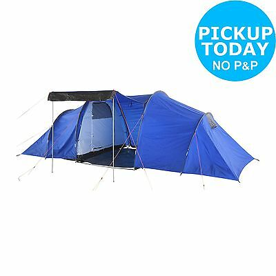 Pro Action 6 Man 2 Room Tent.