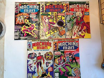 Marvel - Machine Man x 5 Lot 8.