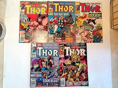 Marvel - Thor x 5. Lot 7