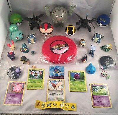 Pokemon 22 Figure Bundle Great Deal Cards And Pokeballs Toys And Lots More