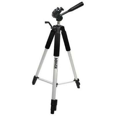 Bower Steady Lift section 3-section Aluminum Tripod with 3-Way Pan Head