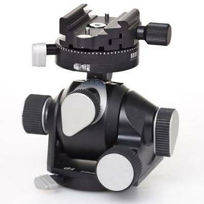 Arca Swiss D4 Geared Tripod Head Quick Set, Classic (Plate Not Included) #870103