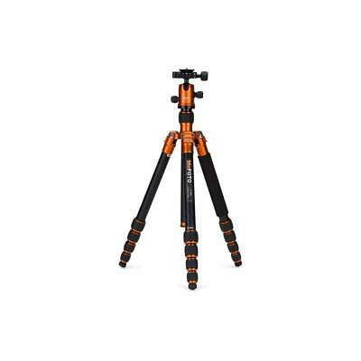 MeFOTO RoadTrip Travel Tripod 5-section Aluminum Tripod with BallHead -Orange