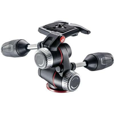 Manfrotto MHXPRO-3W X Pro 3-Way Head with Retractable Levers/Friction Controls