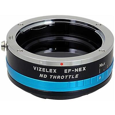 Fotodiox Vizelex ND Throttle Lens Adapter for Canon EF to Sony NEX EMount Camera