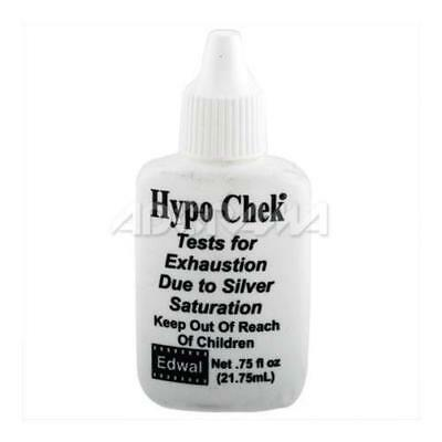 Edwal 3 / 4oz Hypo-Check for Exhausted Film / Paper #EDHC34