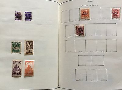 Poland Lot Of 9 V. Mlh* & Used For Description Look At The Picture Spl