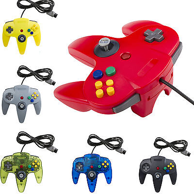 NEW Long Controller Game System for Nintendo 64 N64 Blue US Ship
