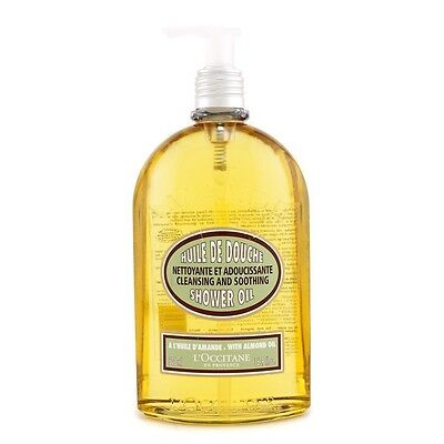 Almond Cleansing & Soothing Shower Oil 500ml by L'Occitane Bath & Shower