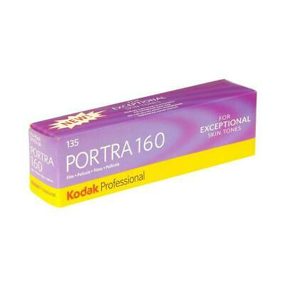 Kodak Portra 160 Color Negative Film, 35mm, Pack of 5 #6031959