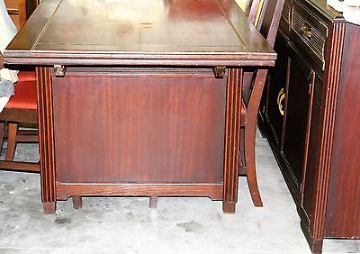 Refectory  Draw Leaf Extending Dining Sets Table & 6 Chairs buffet Antique RARE