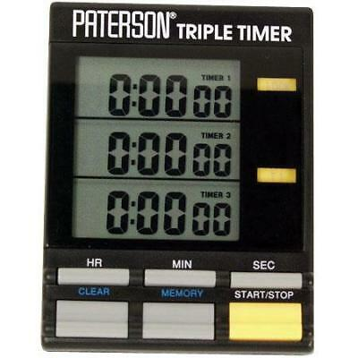 Paterson Photographic Triple Timer, Three Stage Processing Timer. #PTP800