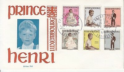 Luxembourg Caritas FDC 1961