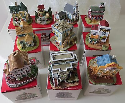 Lot of Liberty Falls Collection of 10 Miniatures