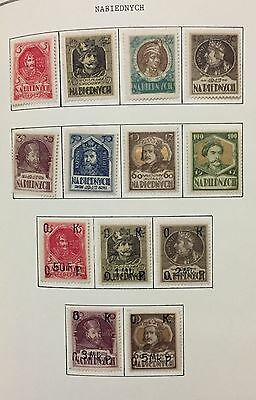Na Biednych Poland Lot Of 13 V. New Mlh* For Description Look At The Picture Spl