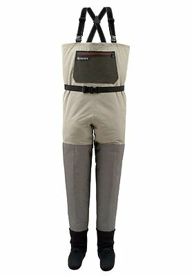Simms HEADWATERS Stockingfoot Waders ~ NEW Sage ~ 2XL ~ CLOSEOUT