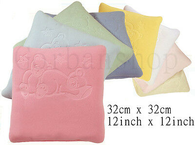 Newborn Baby Sleeping Pillow Cot Pram Bed Support Cushion Pad Embossed Pattern