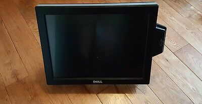 """Dell E157FPTe 15"""" Touchscreen/POS LCD Monitor With Card Reader"""