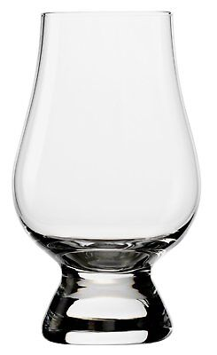 Fox Run Stolzle Glencairn Crystal Whiskey Clear Tasting Glass w/ Tapering Mouth