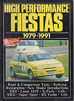 FORD FIESTA MK1 MK2 MK3 INCL XR2 XR2i RS TURBO 1.4S 1.6S 1979-91 ROAD TESTS BOOK