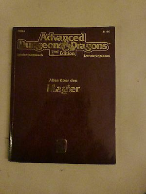 Advanced Dungeons& Dragons - 2nd Edition - Alles über den Magier