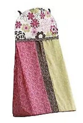 NEW Cocalo Baby Taffy Diaper Stacker FREE SHIPPING Flowers Pink Green